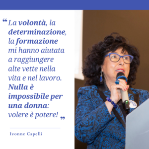 Ivonne Capelli Intervista
