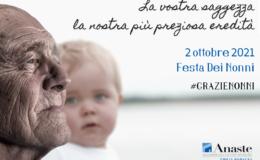 2 Ottobre, festa dei nonni: attestato di merito agli Operatori di RSA
